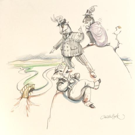 Billy Goat Gruff Fairy Tale 3