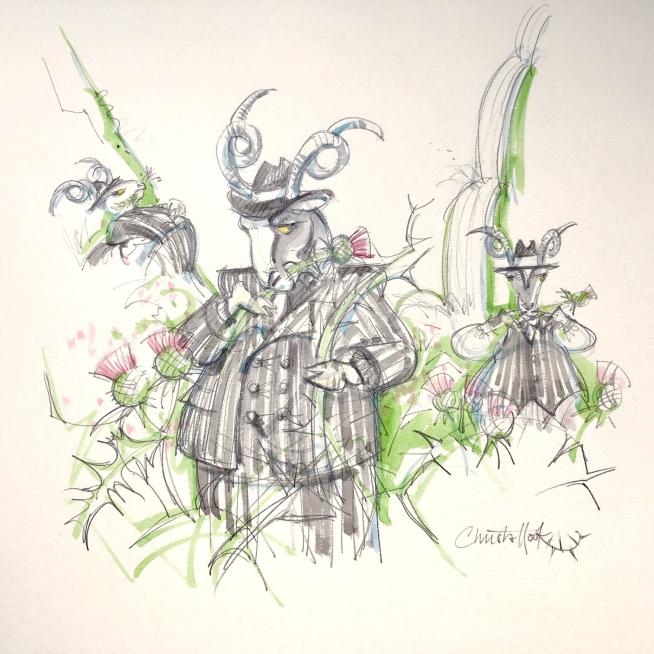 Billy Goats Gruff fairy tale 1