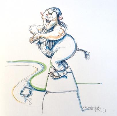 Billy Goats Gruff Fairy Tale 18