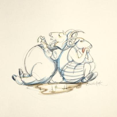 Billy Goats Gruff Fairy Tale 30